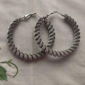 🐺 Woven Hoop Earrings 🐺